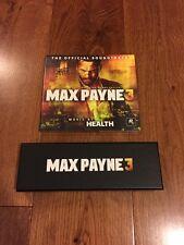 Max Payne 3 Bullet Pen & CD Soundtrack Limited Promo Brand New Rare