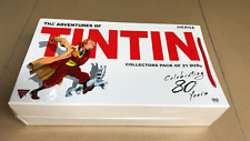 The Adventures of Tintin Complete Collection 21 DVD Box Set Celebrating 80 Years