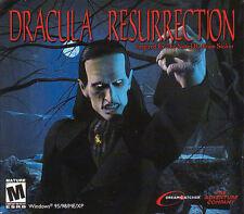 DRACULA RESURRECTION Adventure PC Game NEW in BOX WinXP