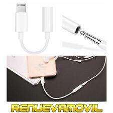 Cable Auxiliar Adaptador de Conector para Auriculares de iPhone 7 8 Plus X XS XR