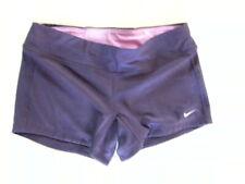 Nike Dri Fit Juniors Size M Purple Running Shorts