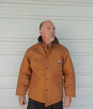 "Steiner 30"" Chore Coat Thermal Tuff Blanket Lined Button Brown/ Medium 10171"