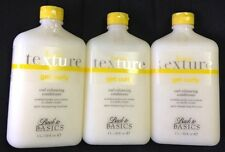 LOT OF 3 Back To Basics Basic Texture Get Curly Conditioner 33 oz SUPERSIZED!