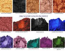 Natural Mica Pigment Color Soap Making- Listing for 2 oz LAVENDER OXIDE MATTE