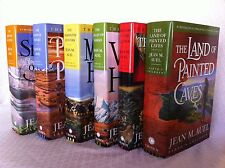 Earth's Children Series 1-6 Book Collection HARDCOVER Set Jean M. Auel New!