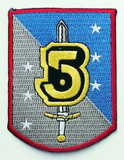 BABYLON FIVE Embroidered Crew Logo Patch, Bab 5