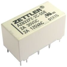 ZETTLER AZ832P2-2C-5DE Relais 5V DC 2xEIN 3A 125R Polarized DIP Relay 855059