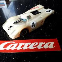 """. MODELLAUTOS CARRERA UNI UNIVERSAL """"PORSCHE 917 weiss""""   gepflegt mit Mängeln"""