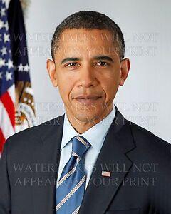 Barack Obama US President official 2009 portrait 5x7 real photo print or digital