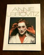 Annie Leibovitz Photographs, Intro by Tom Wolfe, 1983 Large Softcover