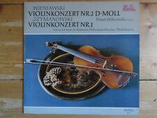 Wanda Wilkomirska-Wieniawski-Violinkonzert Nr.2 D-moll-Weißlabel Promo Lp-Rar