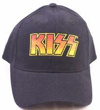 KIZZ Band Black Adjustable Baseball Cap Caps Hat Hats New