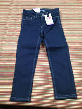 Nwts sz 4 Levi's Girls Jean Leggings Jeggings Butterfly Embroidered Pockets