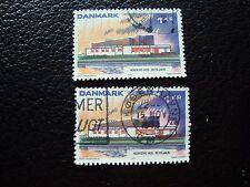 DANEMARK - timbre yvert et tellier n° 555 x2 obl (A33) stamp denmark
