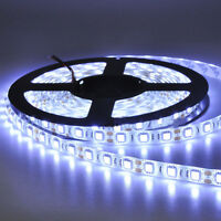 12V 5M 300Leds 5050 SMD Cool White Waterproof Led Strip Lights Lamp Ultra Bright
