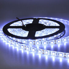 12V 5M 300Leds 5050 SMD Cool White Waterproof Led Strip Lights Lamp Ultra Bright