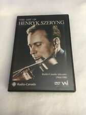 *Free Ship* Art of Henryk Szeryng DVD Region ALL Violin Bach Brahms Strings