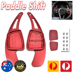 2013-2021 Audi SEAT RED Metal Paddle Shift Extensions A3 A4 A5 A6 S3 S4 S5 RS RS