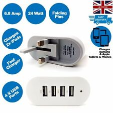 Plastic USB Mobile Phone Wall Chargers for iPhone 7