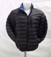 INC International Concepts Men M, XL Black Quilted Packable Puffer Jacket M246