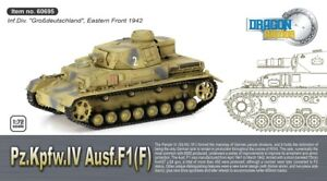 Dragon Armor 60695 - 1/72 WWII Dt. Pzkpfw IV Ausf. F1(F) - New