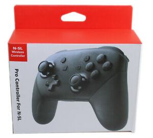 Wireless Pro Controller for Nintendo Switch Custom Made - Black - Free Shipping