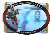 MICHAEL WESTBROOK 1996 SPX GOLD #50 WASHINGTON REDSKINS