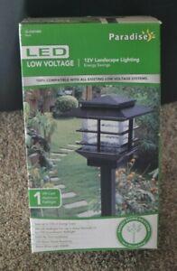 Paradise LED Low Voltage 12V Landscape Lighting 3W Cast Aluminum Path Light