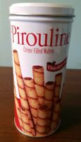 Empty Pirouline Tin