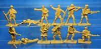 Plastic Toy Soldiers Infantry WWII British infantry set 1:32 54 mm