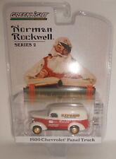 Greenlight Norman Rockwell Series 2, 1939 Chevrolet Panel Truck Red/White New