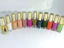 Smalto L Oréal Paris Color Riche le Vernis Stock Lotto 12 Colori Gel Moda