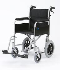 Rollstuhl Enigma Leicht Faltbar Tragbar Begleiter Mit Handbremse 45cm Sitz