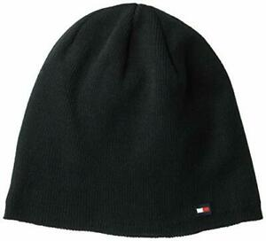 Tommy Hilfiger Men's Cold Weather Knit Beanie, Black, One Size