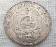 South Africa 1895 Half Crown 2 1/2 Shillings EF-40