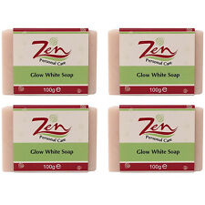 GLOW WHITE SOAP Pack 4   BEST soap using 7 whitening ingredient of the industry