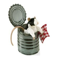 Rat in Tin Can Puppet with Movable Head and Legs MPN 3084 by Folkmanis, 3 & Up
