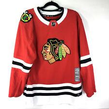 adidas NHL Adizero Hockey Jersey Chicago Blackhawks sz 46 Small Red Sewn