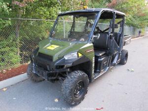 2016 Polaris Ranger Crew Diesel 4WD Utility Vehicle Cart UTV Dump -Parts/Repair