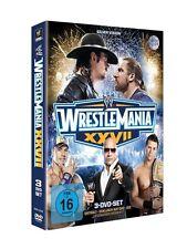 WWE WrestleMania 27 2011 [3x DVD] *NEU* DEUTSCH XXVII Rock