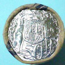 """2012 AUSTRALIA 50 CENT COIN ROLL """" SCARCE """""""