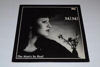 "Mimi~The Man's So Real~12"" Single~1984 Electronic~Hi NRG~UK IMPORT~VG++ Vinyl!"
