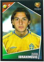 PANINI UEFA EURO 2004 ZLATAN IBRAHIMOVIC STICKER NO 197