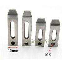 2pcs Wire EDM Stainless Jig Holder Clamping 70X22X8mm 90mmX22mmX12mm Screw Claw