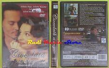DVD film CHOCOLAT CIOCOLATA CU DRAGOSTE sigillato 2000 JOHNNY DEPP mc lp  cd(D4)