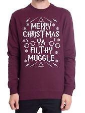 Merry Christmas Ya Filthy MUGGLE Christmas Jumper Harry Potter Themed Present