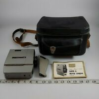 Vintage Sears Easi Load Super 8 Reflex Zoom Movie Film Camera 8MM with case