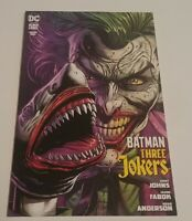 Batman: Three Jokers #1 (08/2020) VF RARE Variant Cover 2nd Printing Joker
