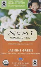 Jasmine Green Tea, Numi Organic Tea, 18 tea bags