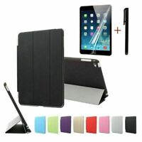 Magnetic Smart Cover PU Leather Case For iPad Mini 1 2 3 A1599 A1600 A1489 A1490